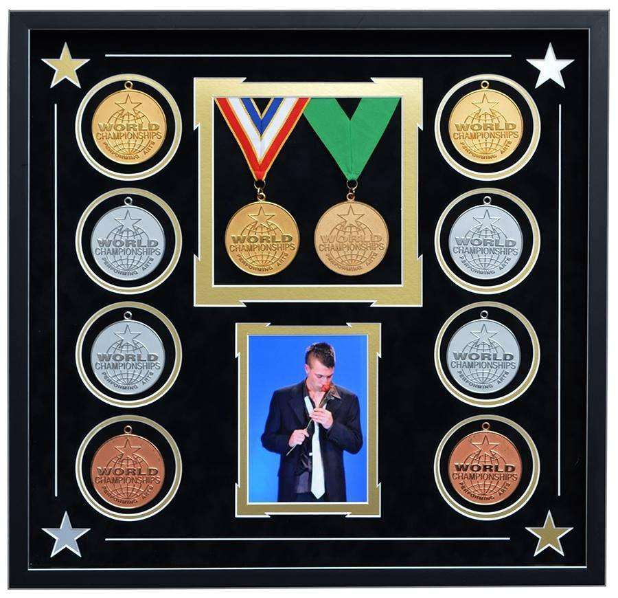 World Championship Winning Drama Medals - The Quality Framing Company & Imaging Services