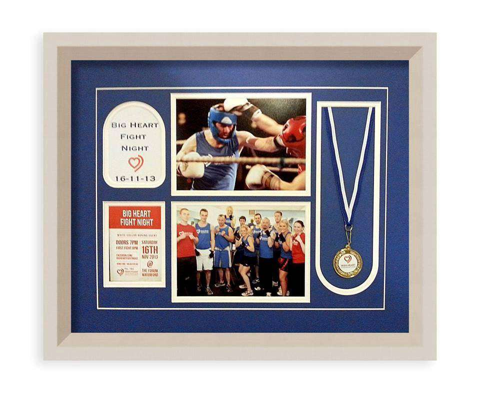 Multi-Window Medal Sports Frame - The Quality Framing Company & Imaging Services