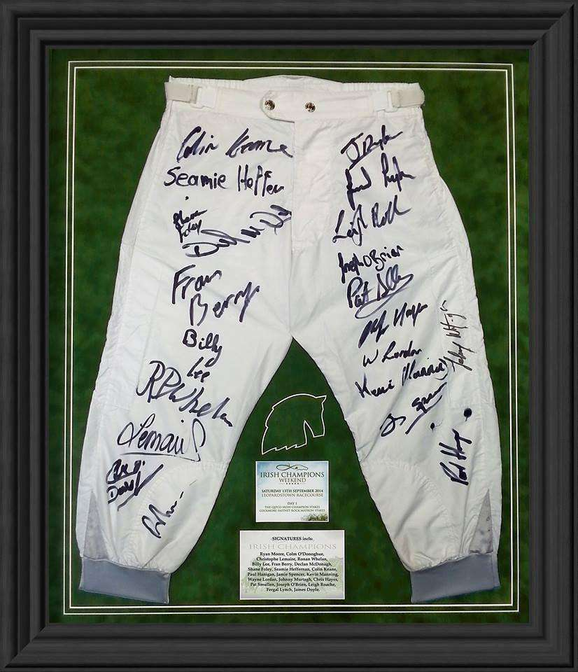 Jockey Shorts framed as a Presentaion Gift - The Quality Framing Company & Imaging Services