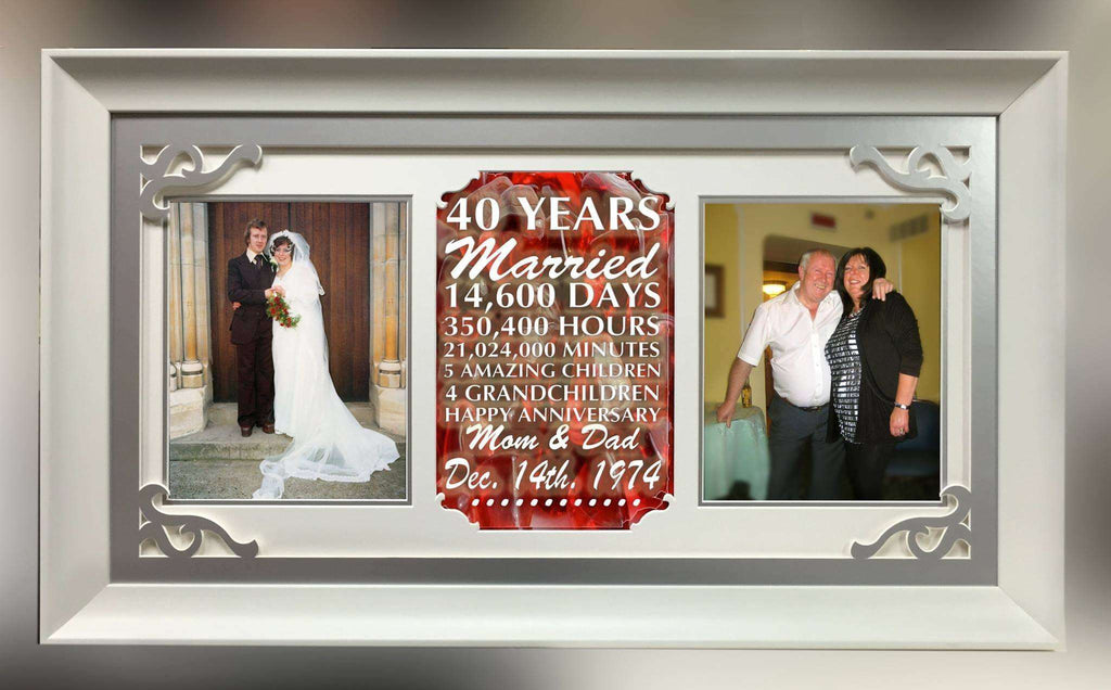 Wedding Anniversary Gift Frame - The Quality Framing Company & Imaging Services
