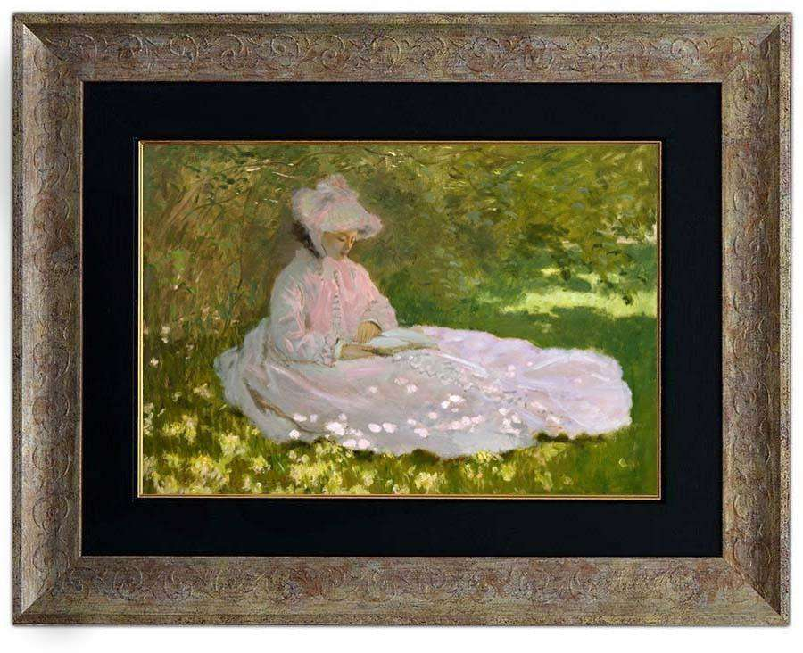 Springtime by Monet - The Quality Framing Company & Imaging Services