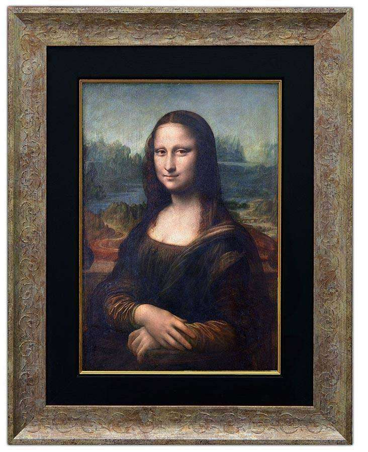 Mona Lisa by Da Vinci - The Quality Framing Company & Imaging Services