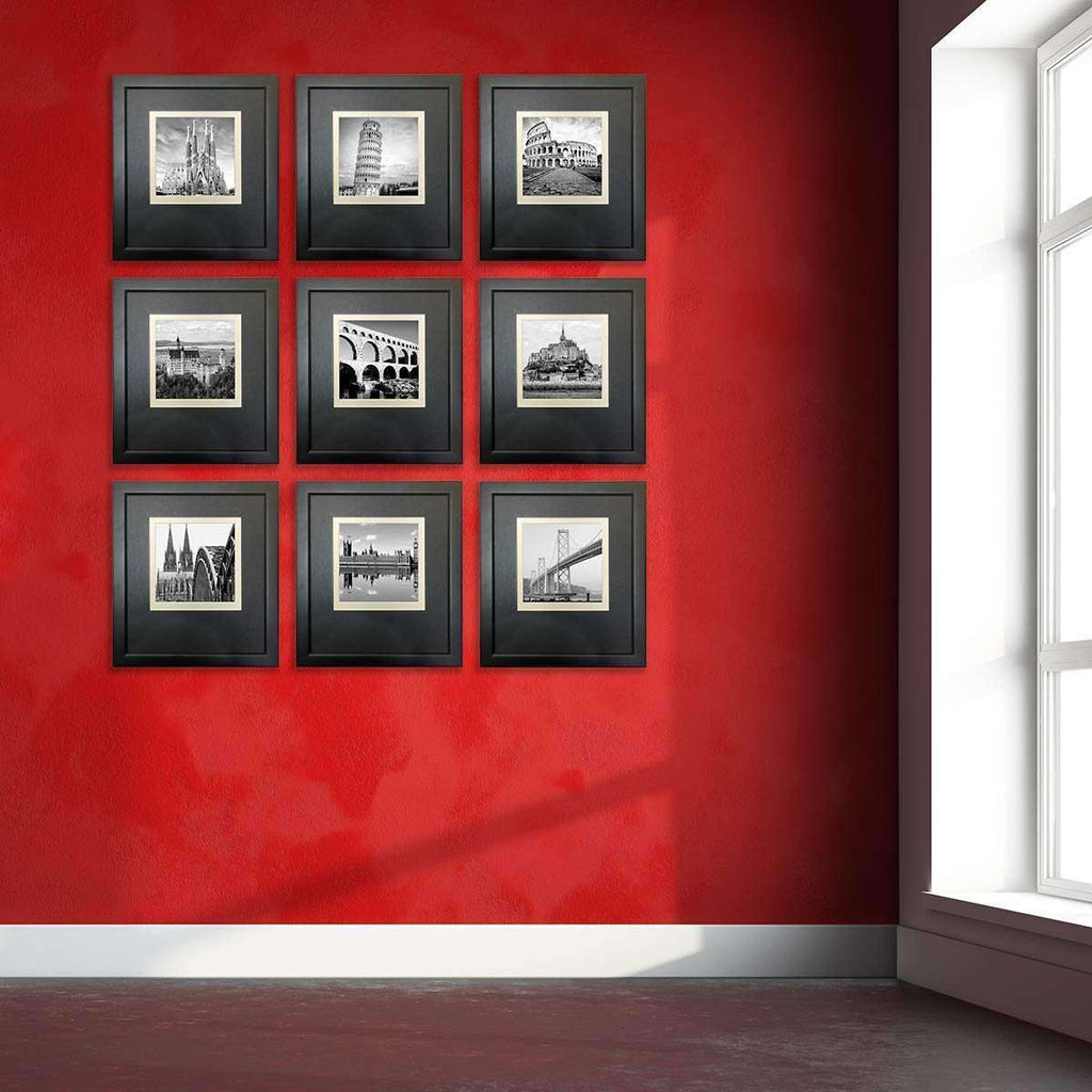 Architexural Picturewall- 9 set Frame Collection