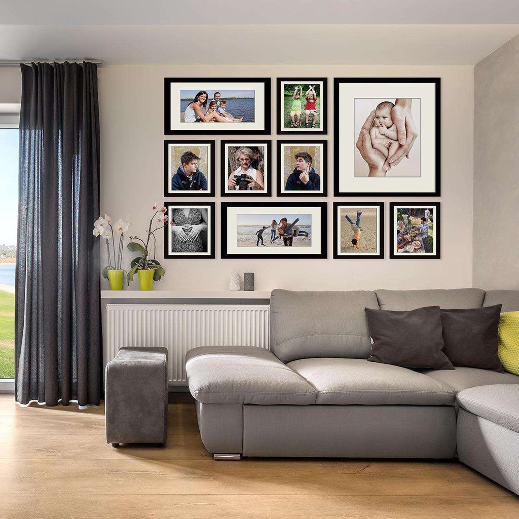 Moderne Picturewall4U™-  10 set Frame Collection - The Quality Framing Company & Imaging Services
