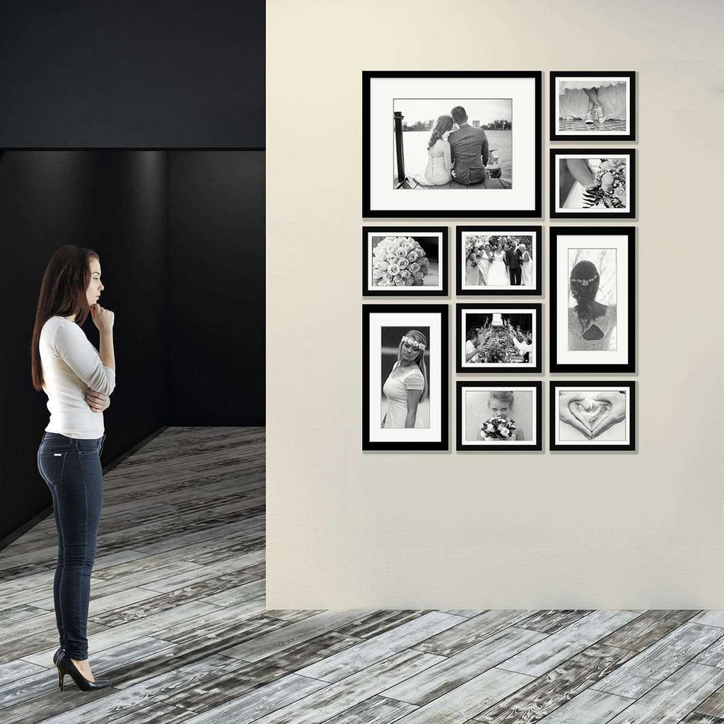 Contemporary XII Picturewall-  10 set Frame Collection