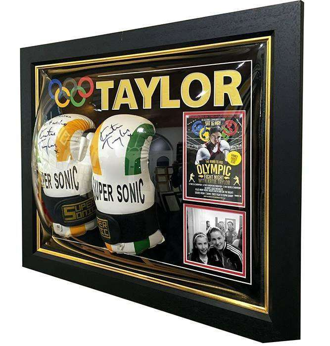 Boxing Gloves Presentation Gift - The Quality Framing Company & Imaging Services