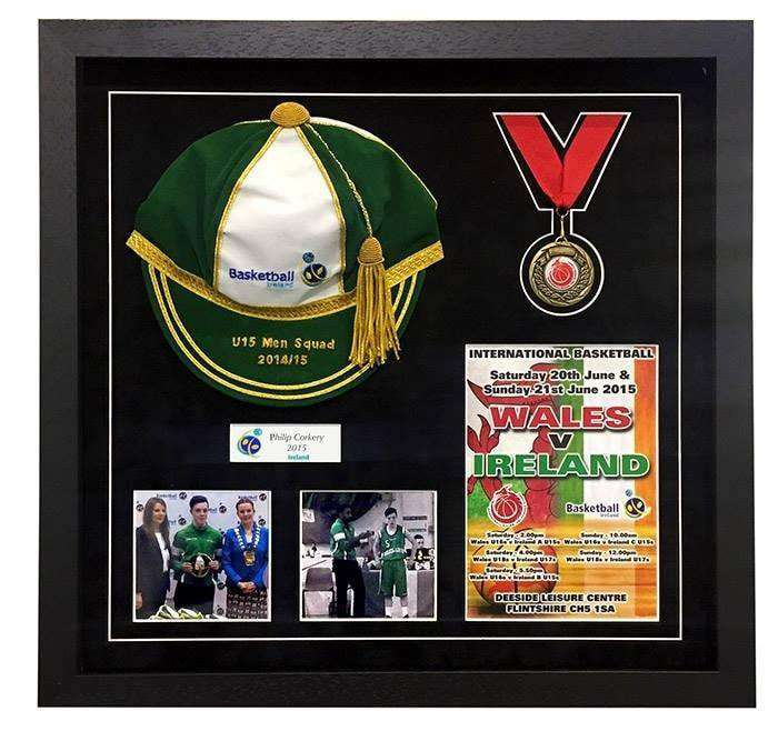 Sports Cap Presentation Frame - The Quality Framing Company & Imaging Services