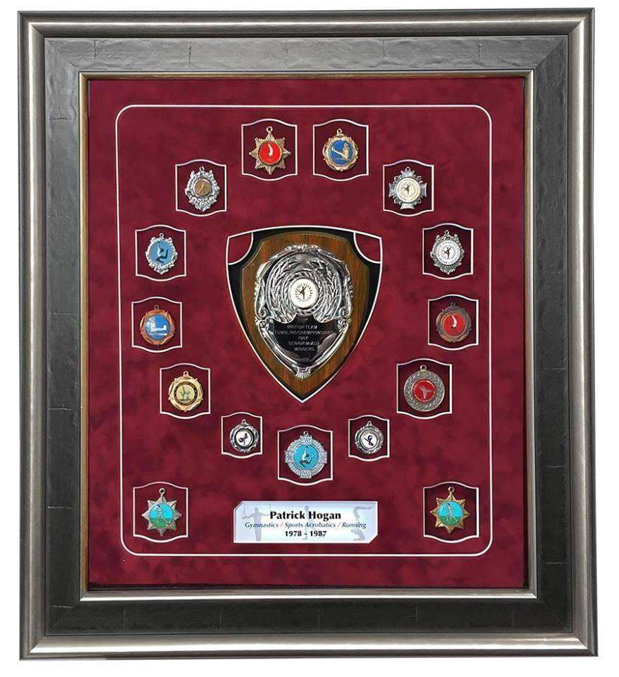 Shield Sports Medal Frame