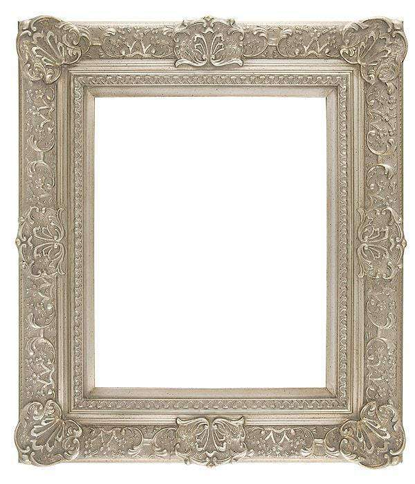 "5"" Width Silver Decorative Frame - The Quality Framing Company & Imaging Services"