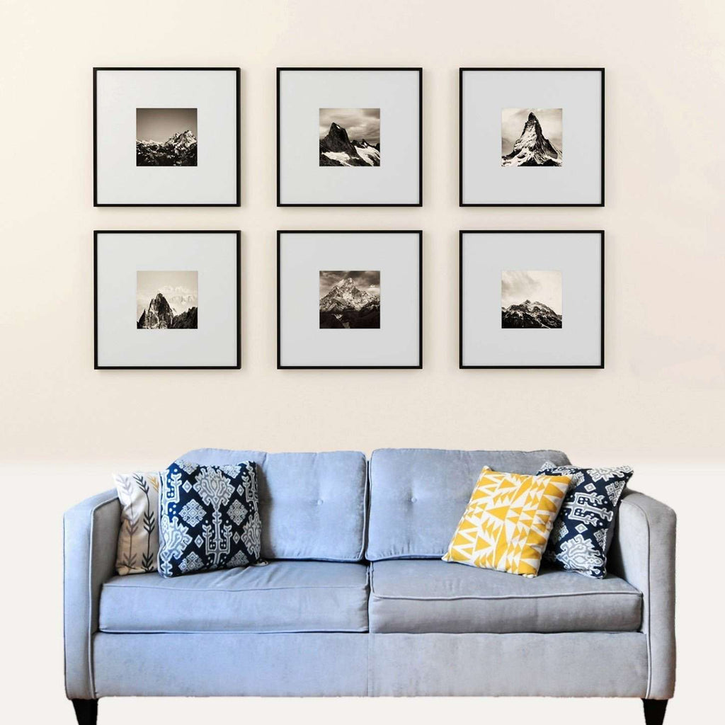 Classic Frame Set 16x16 inch frames to fit Instagram 8x8 inch photo Collection - The Quality Framing Company & Imaging Services