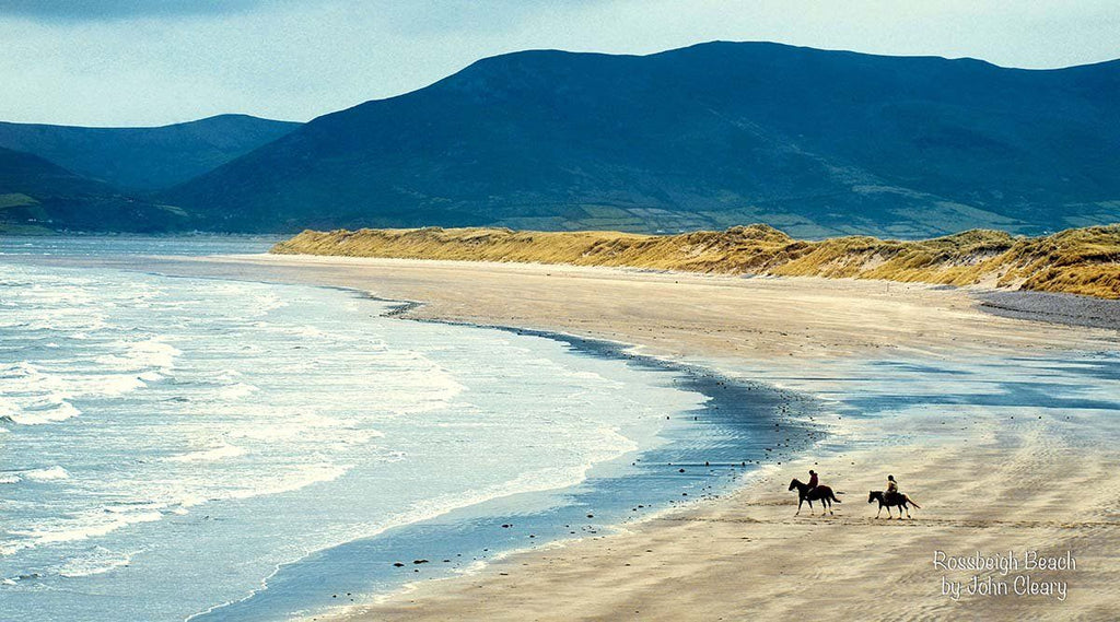 Rossbeigh Beach & horses - The Quality Framing Company & Imaging Services