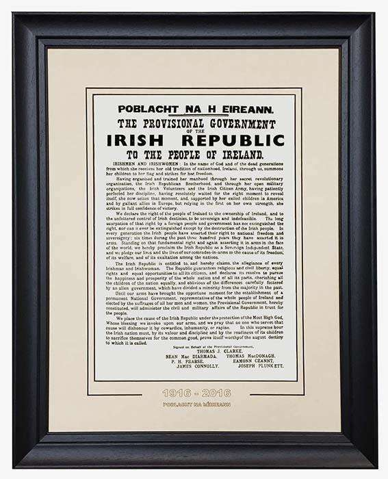 The Proclamation (1916-2016) - The Quality Framing Company & Imaging Services