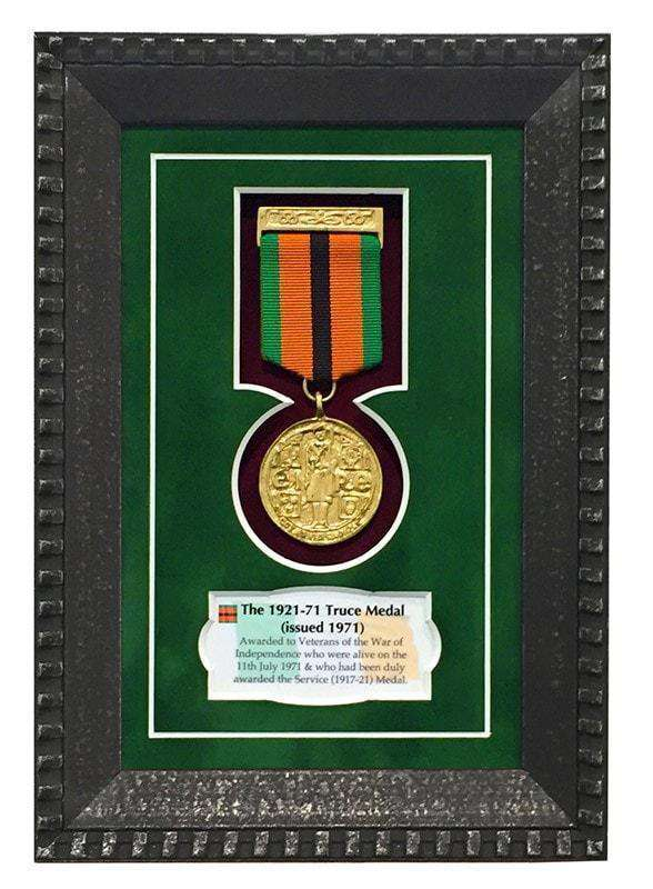 1921-71 Truce Medal Gift Frame | - The Quality Framing Company & Imaging Services