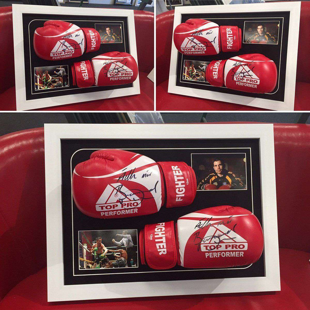 Boxing Gloves Signed by WorldChampion - The Quality Framing Company & Imaging Services