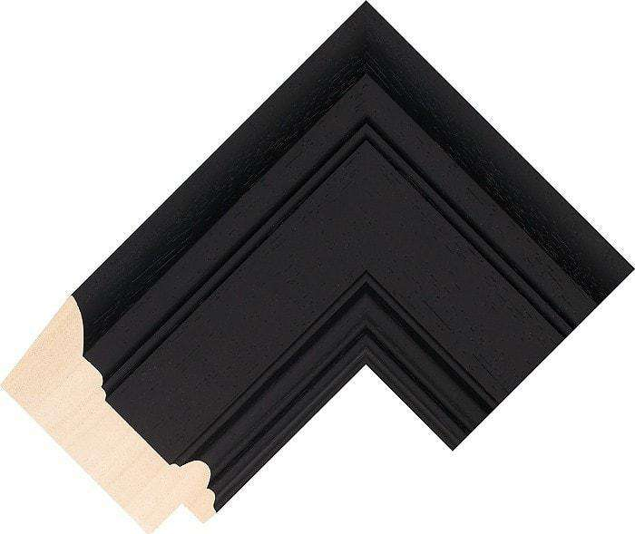Cosima Black Picture Frame 84mm - The Quality Framing Company & Imaging Services