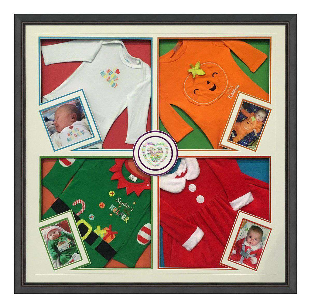 Baby Grows X 4 Design - The Quality Framing Company & Imaging Services