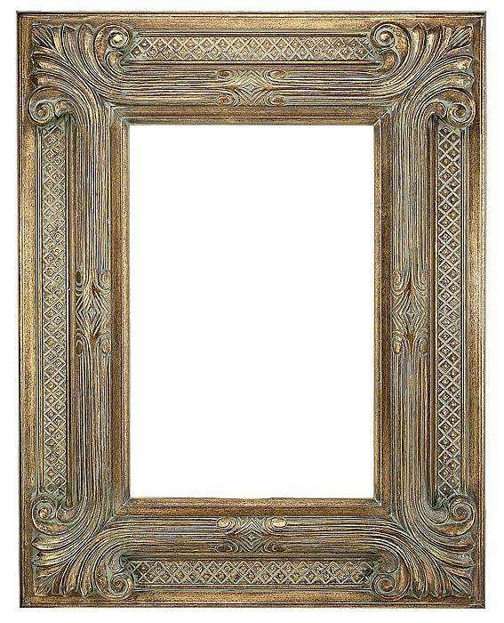 "9"" Gold Decorative - The Quality Framing Company & Imaging Services"
