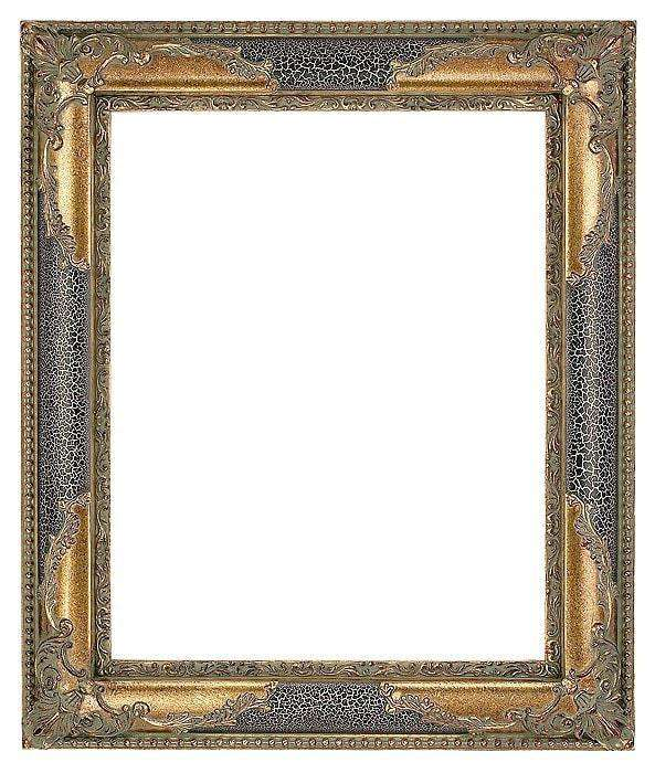 "3"" Ivory/Black Decorative Frame - The Quality Framing Company & Imaging Services"