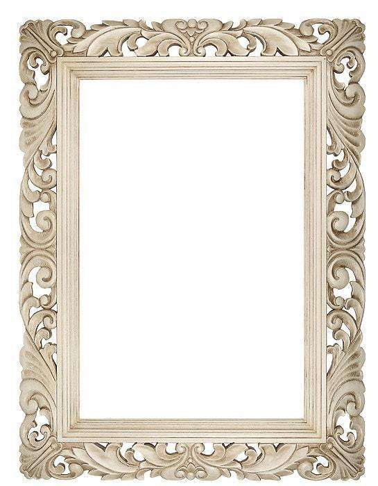 "6.5"" Cream Carved Swept - The Quality Framing Company & Imaging Services"