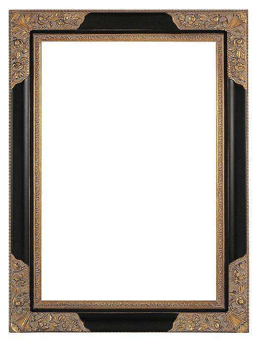 "4.5"" Black/Gold Decorative - The Quality Framing Company & Imaging Services"