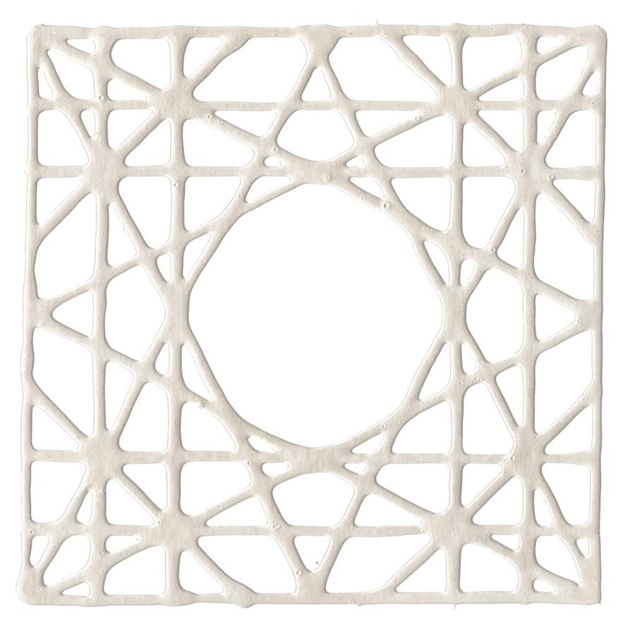DecoGraph C in Pearlized White 16x16 - The Quality Framing Company & Imaging Services