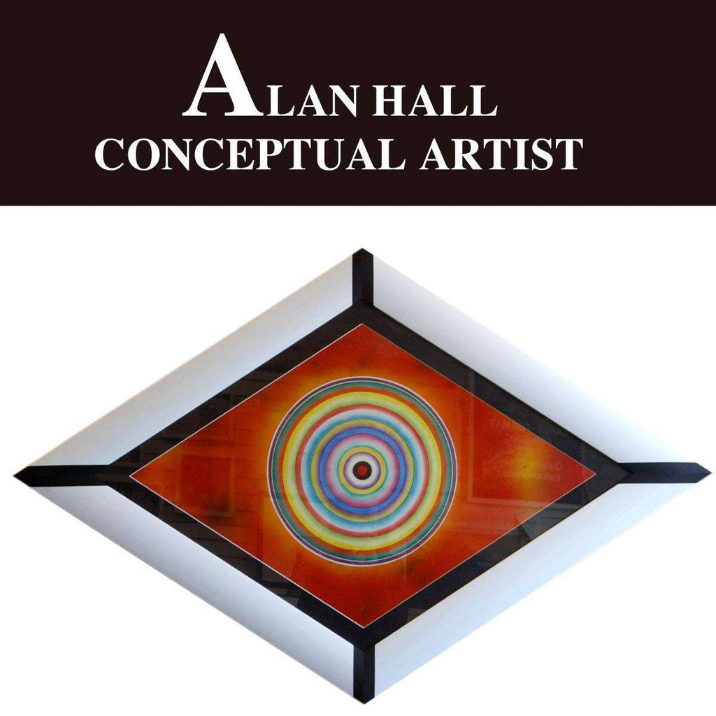 Alan Hall Coceptual Art Piece - The Quality Framing Company & Imaging Services