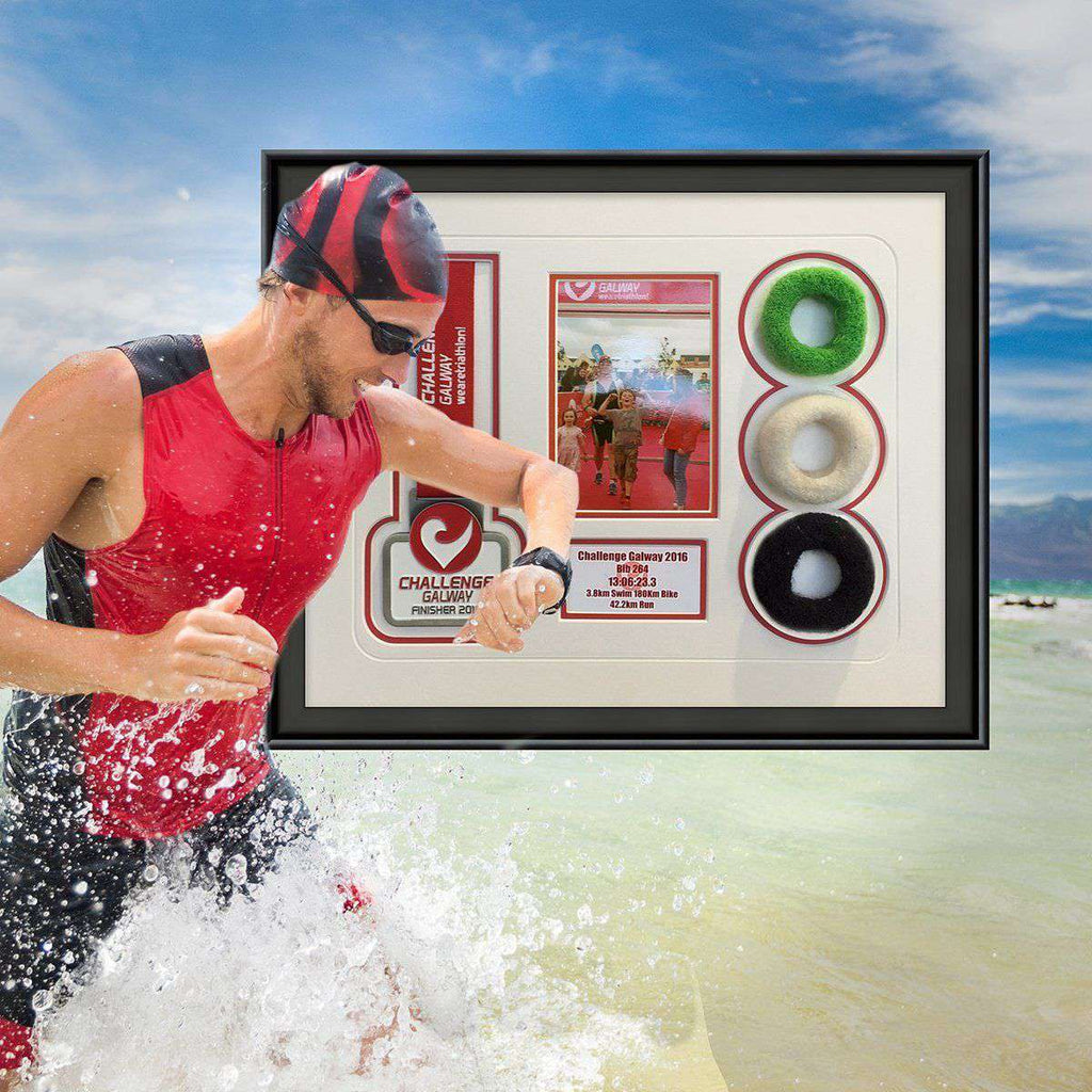 The Spoils of the Triathalon - The Quality Framing Company & Imaging Services