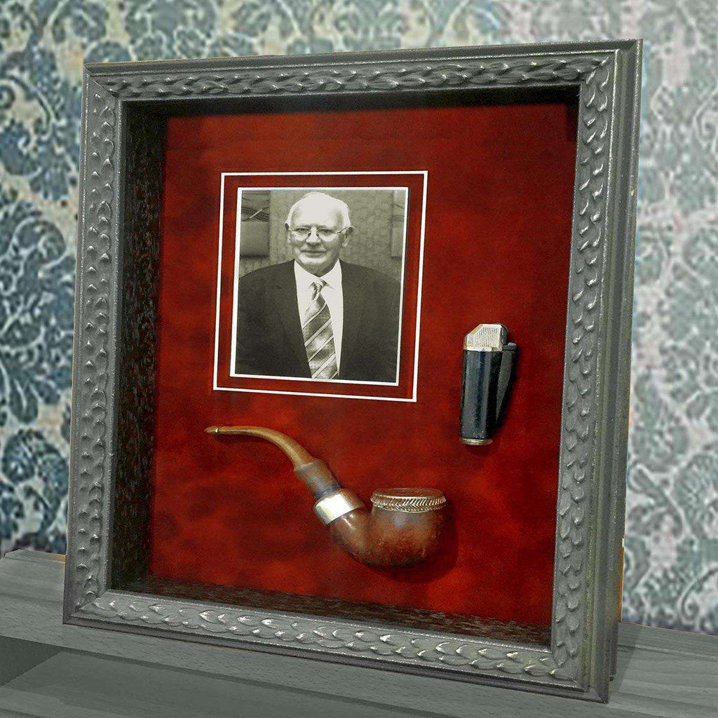 One Man & his Pipe - The Quality Framing Company & Imaging Services