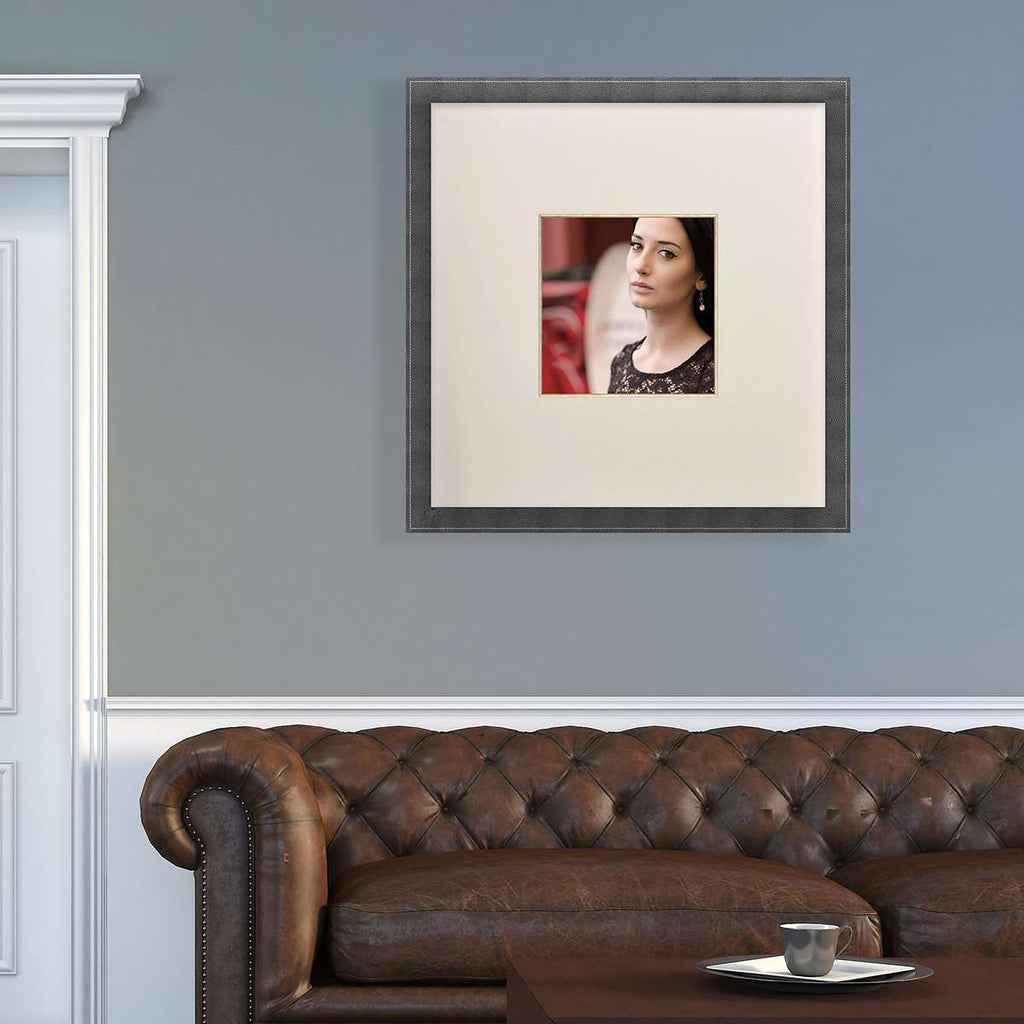 Extra-Wide Mount on a Portrait Photo - The Quality Framing Company & Imaging Services