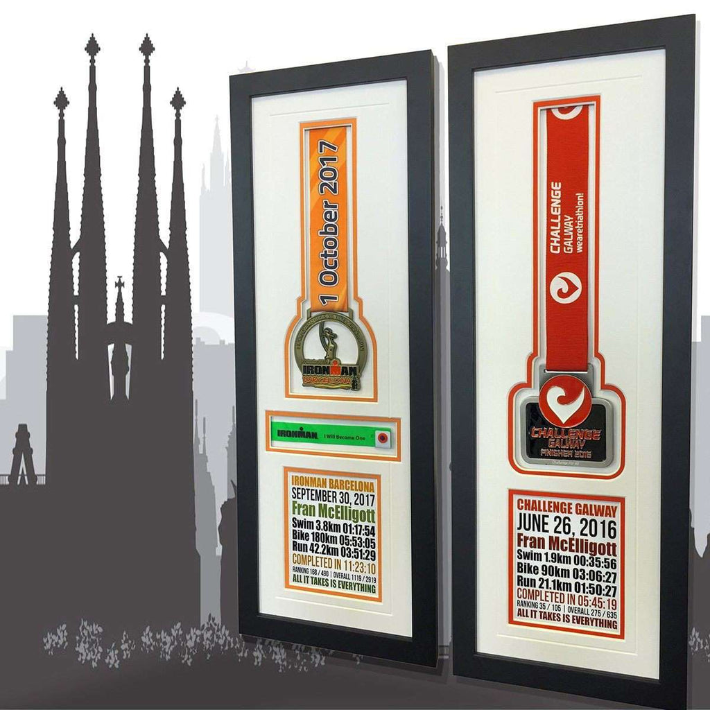 Twin Cites Ironman- Barcelona & Galway | - The Quality Framing Company & Imaging Services