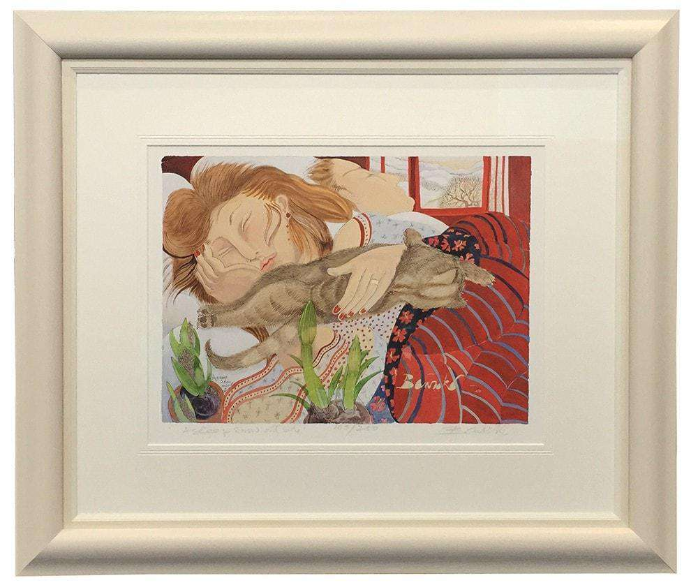 Asleep by Pauline Bewick - The Quality Framing Company & Imaging Services