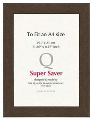 Mahogany 40mm Picture Frame I 6 Pack-qfc.ie
