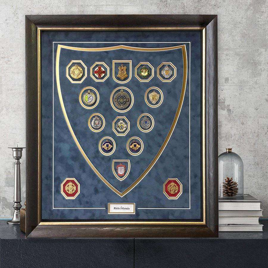 Shield Sports Medal Frame - The Quality Framing Company & Imaging Services