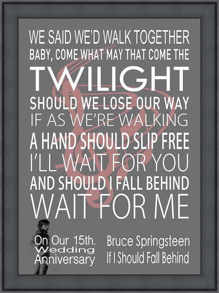 Personalised Song Print