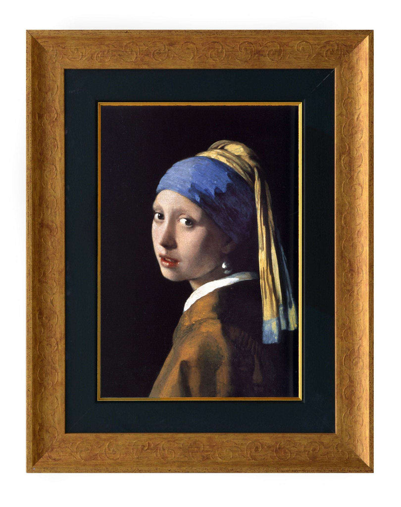 Girl with a Pearl Earring by Vermeer - The Quality Framing Company & Imaging Services