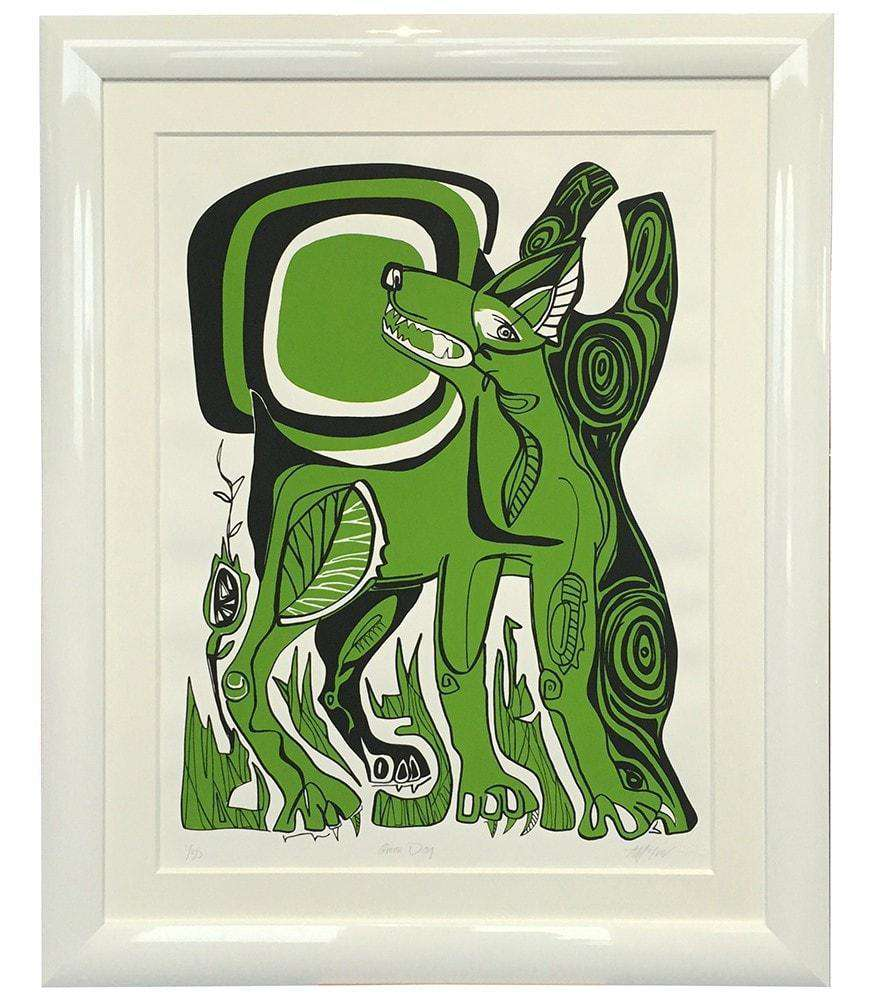 The Green Dog by Duncan McIvor - The Quality Framing Company & Imaging Services