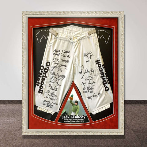 Jack Kennedy's Signed Jodphurs  Auctioned for Charity