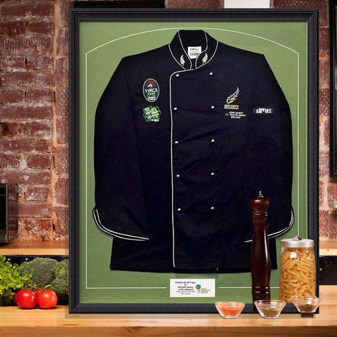 Chef John Murray- Judges Jacket from WACS (World Assoc. of Chef Societies)
