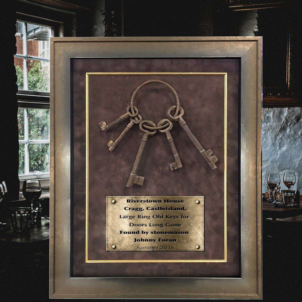 The Keys of Riverstown House in Cragg | - The Quality Framing Company & Imaging Services