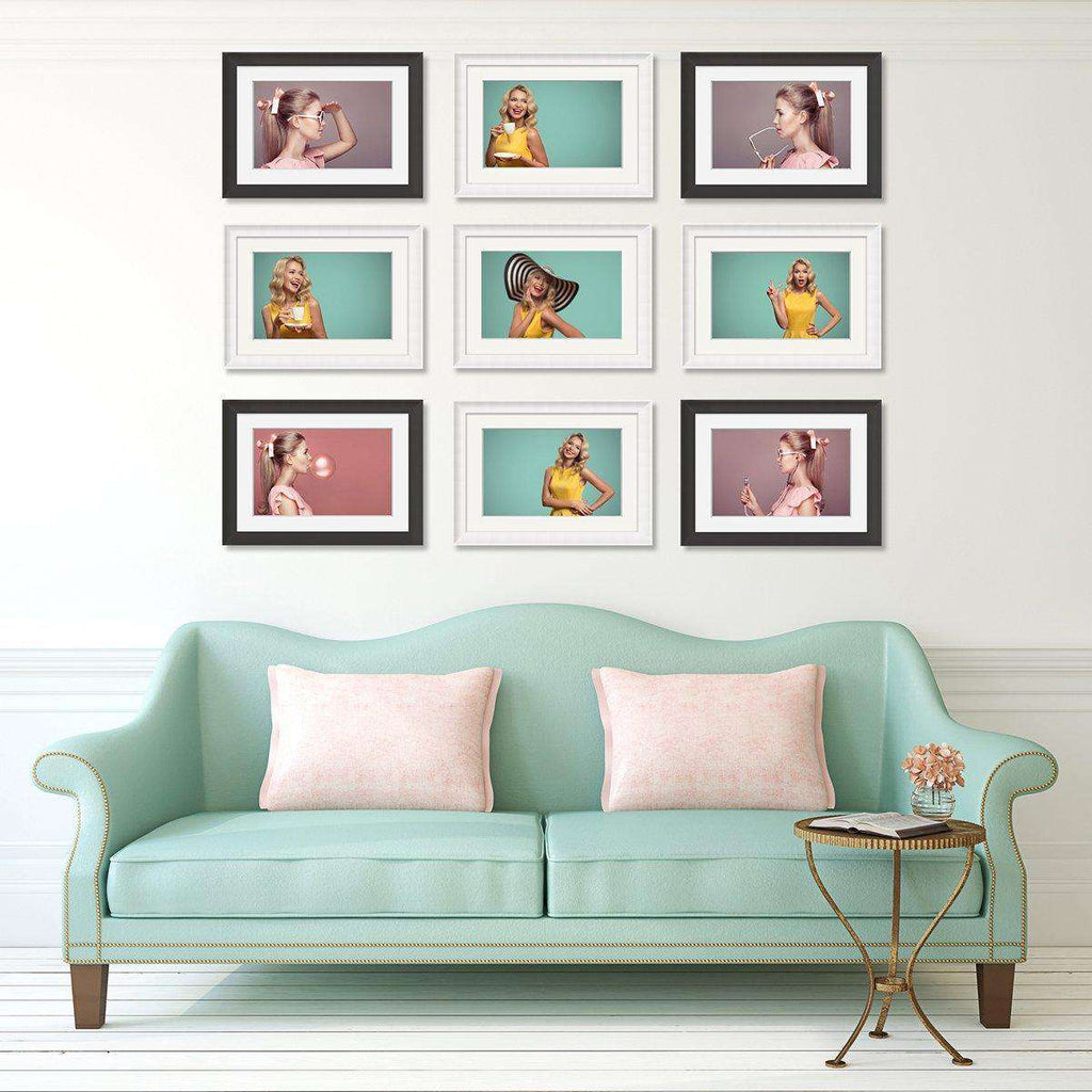 Modern Frame Decor 9 set Frame Collection - The Quality Framing Company & Imaging Services