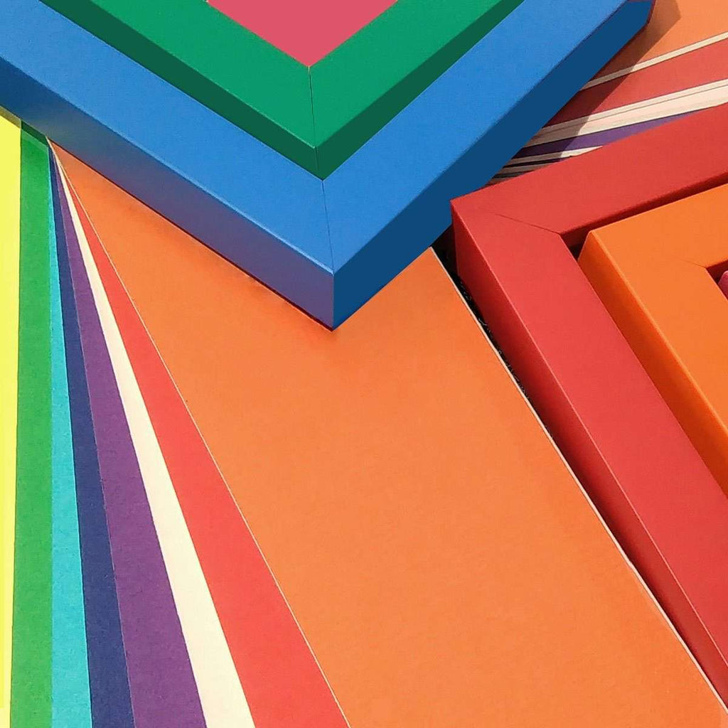 Mount Colours in an Array - The Quality Framing Company & Imaging Services