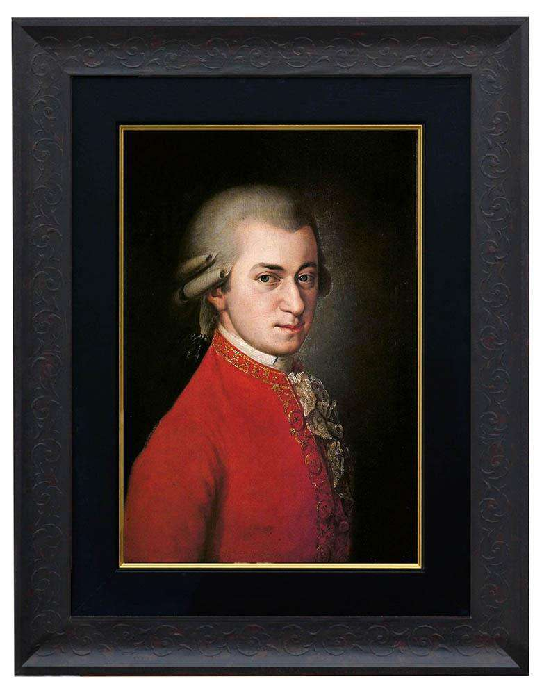 Wolfgang Amadeus Mozart by Della Croce - The Quality Framing Company & Imaging Services