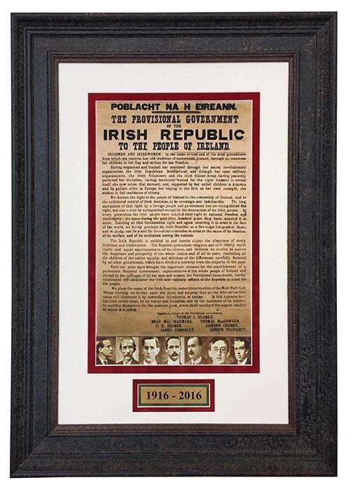 The 1916 Proclamation - The Quality Framing Company & Imaging Services