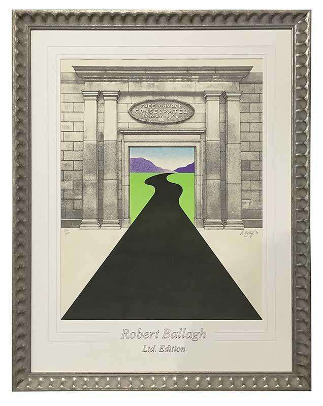 Free Church 1828 by Robert Ballagh-qfc.ie