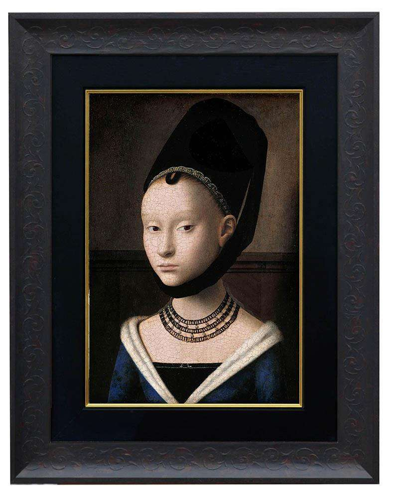 Portait of A Young Lady by Christus - The Quality Framing Company & Imaging Services