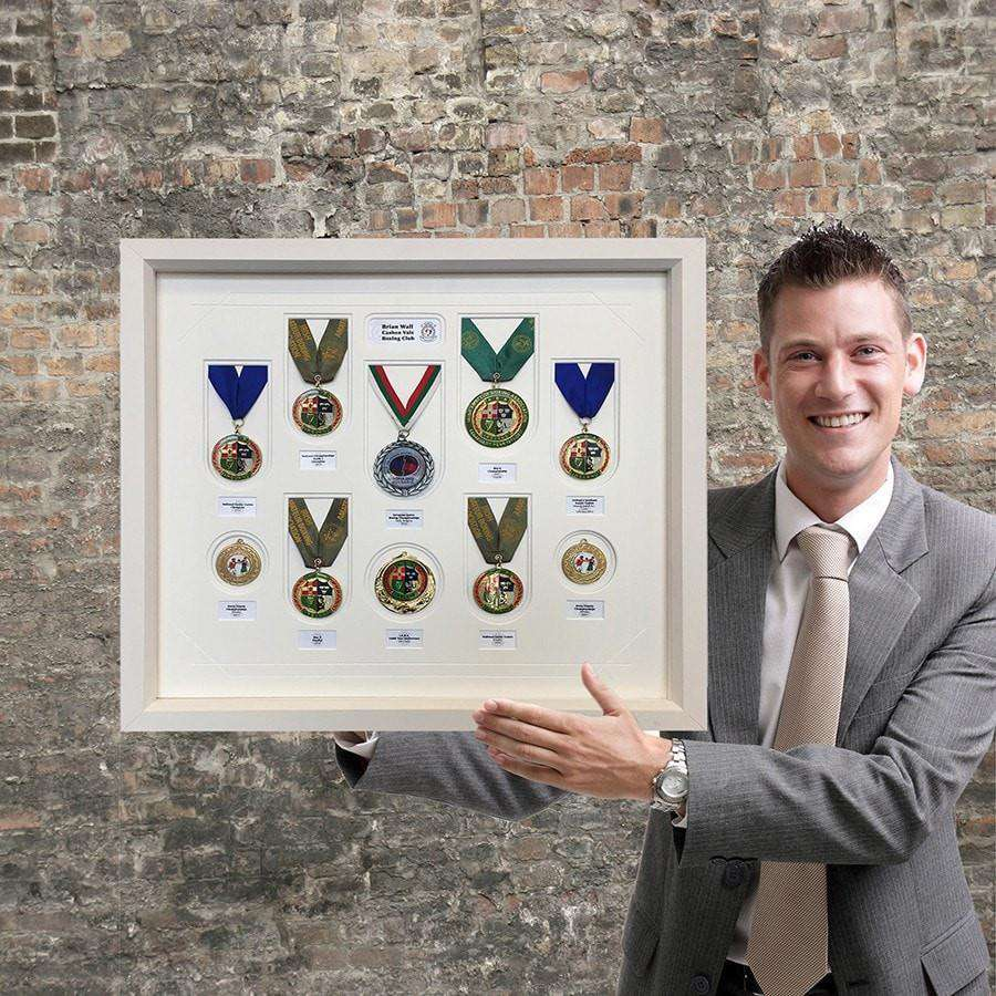 Medals of an International Boxer - The Quality Framing Company & Imaging Services