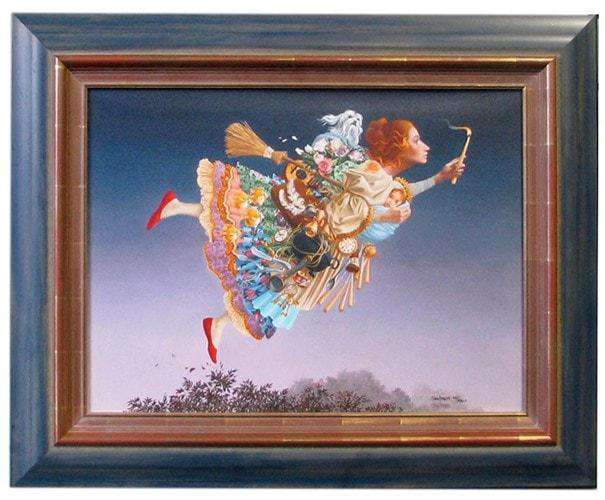 The Responsible Woman by James Christensen (Collectors Item) - The Quality Framing Company & Imaging Services