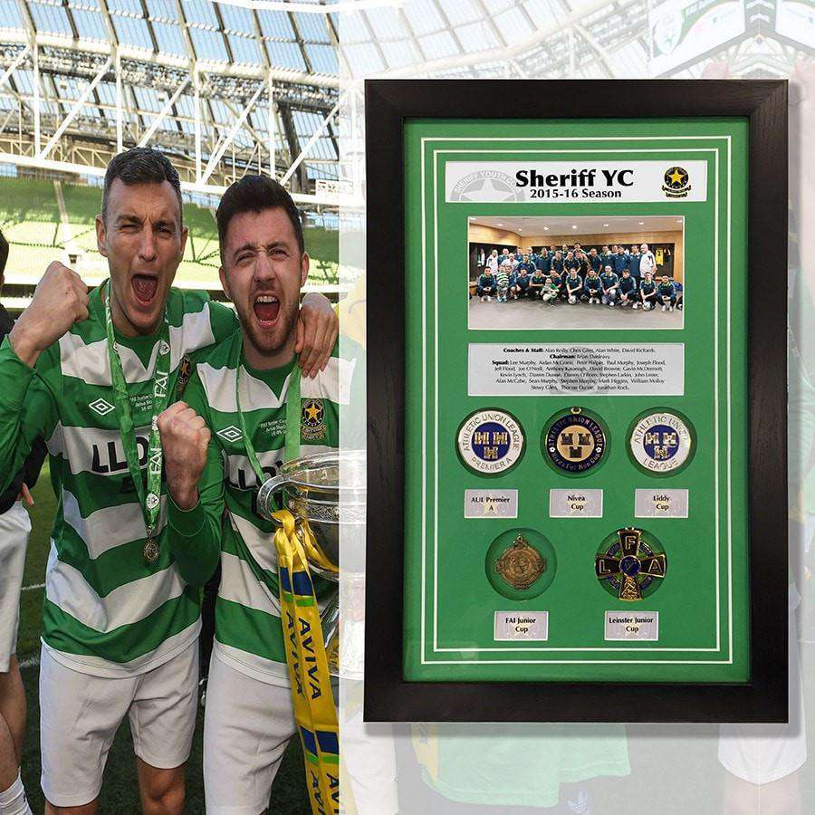 Sherrif Street Club Medals - The Quality Framing Company & Imaging Services