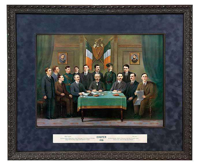 Easter 1916 - Leaders & Proclamation Signatories | - The Quality Framing Company & Imaging Services