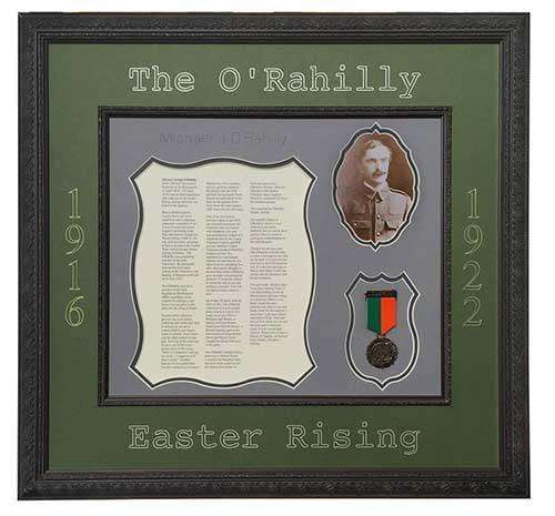 The O Rahilly Git Frame | - The Quality Framing Company & Imaging Services